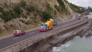 Port Nelson concrete pour - Allied Concrete