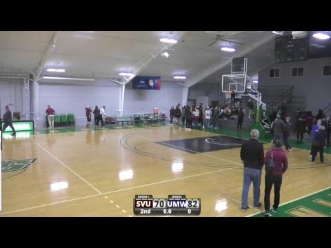 Southern Virginia University Men's Basketball vs Mary Washington