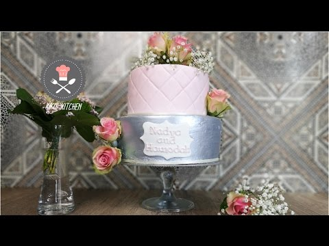 Verlobungstorte Mit Echten Rosen Hochzeitstorte Zweistockige
