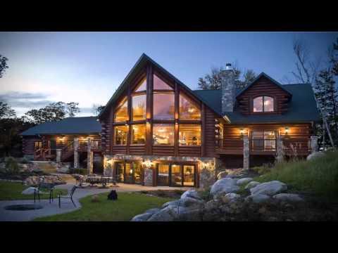 تصاميم منازل من الخشب