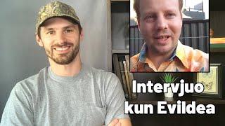 Mi Intervjuos Evildean ĉi-semajne!