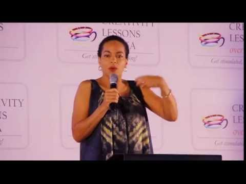 Ifeoma Fafunwa speaking at Creativity Lessons over Tea | August 2016