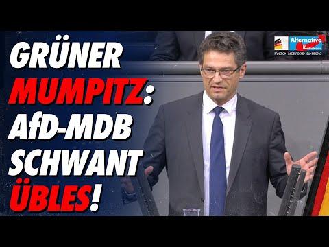 Grüner Mumpitz: AfD-MdB Wolfgang Wiehle schwant Übles! - AfD-Fraktion im Bundestag