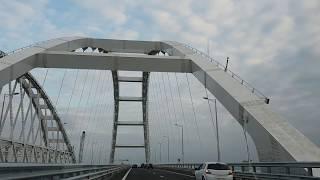 Крымский мост. Мы едем первые. Продолжение эфира