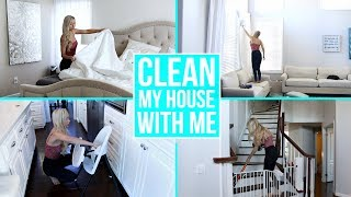 CLEAN MY ENTIRE HOUSE WITH ME! Ultimate Cleaning Motivation