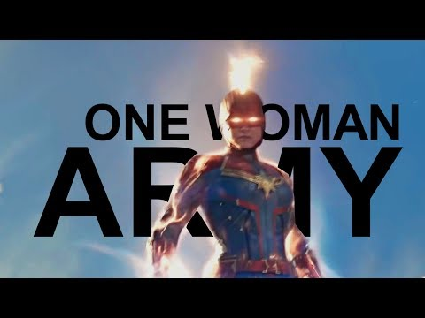 Captain Marvel || One Woman Army