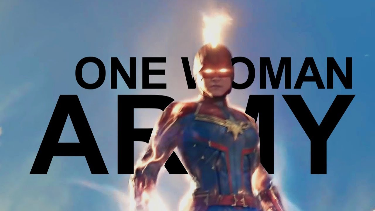 Download Captain Marvel || One Woman Army