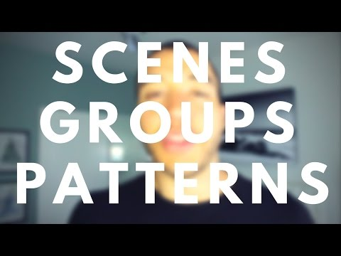 Maschine's Scenes, Groups, Patterns, and Sounds: The 4 Keys to Maschine