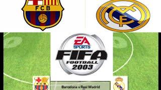 Fifa 2003 (Xbox) - Barcelona V Real Madrid