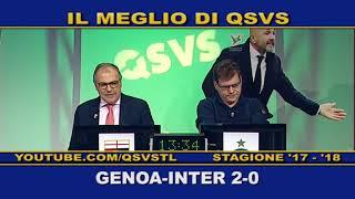QSVS - I GOL DI GENOA - INTER 2-0  - TELELOMBARDIA / TOP CALCIO 24