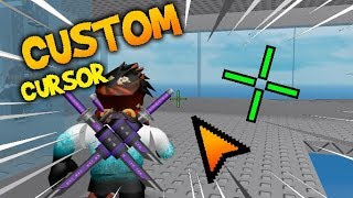 How to Make Your OWN CUSTOM Crosshair and Cursor in Roblox