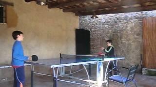 Ping Pong en Can Gat Vell - Llampaies - Alt Empordà