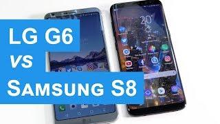 Confronto LG G6 vs Samsung Galaxy S8