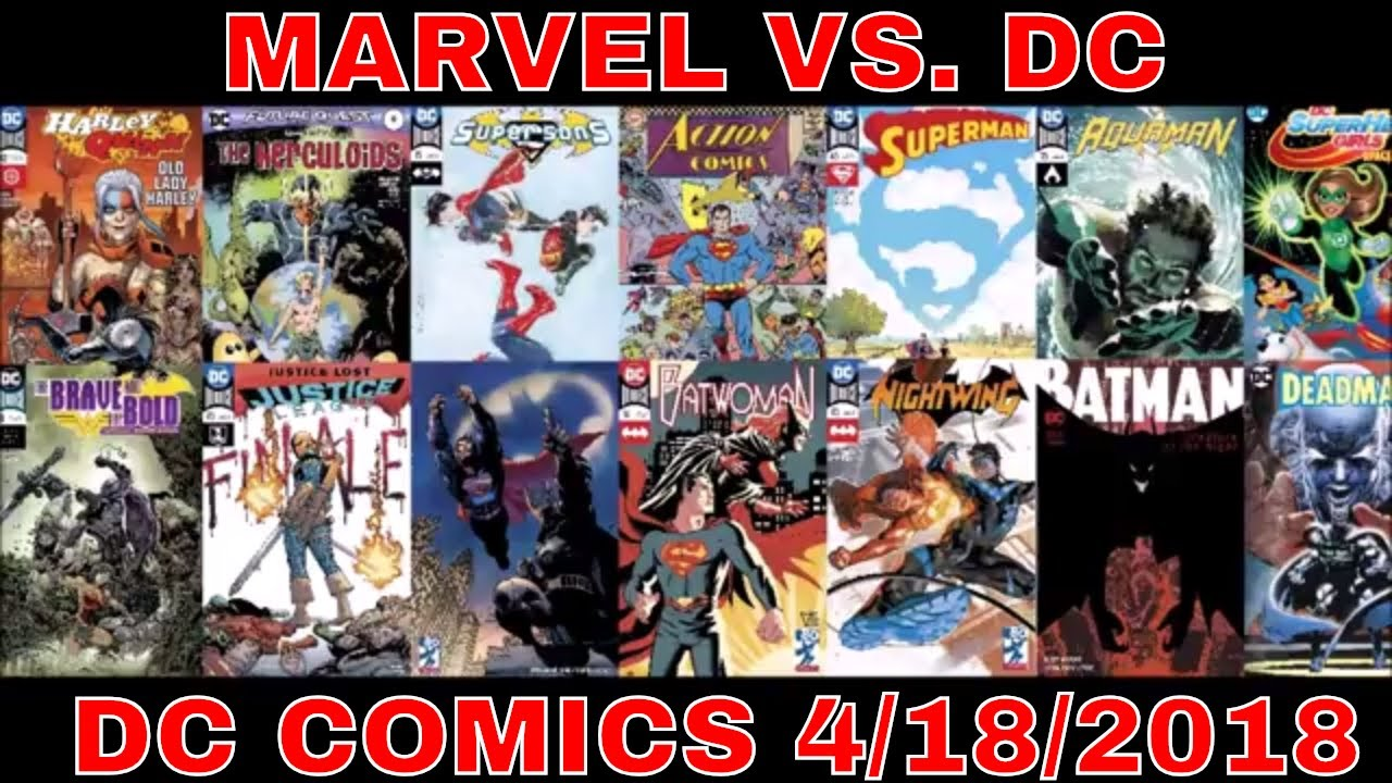 marvel comics 4/18/18