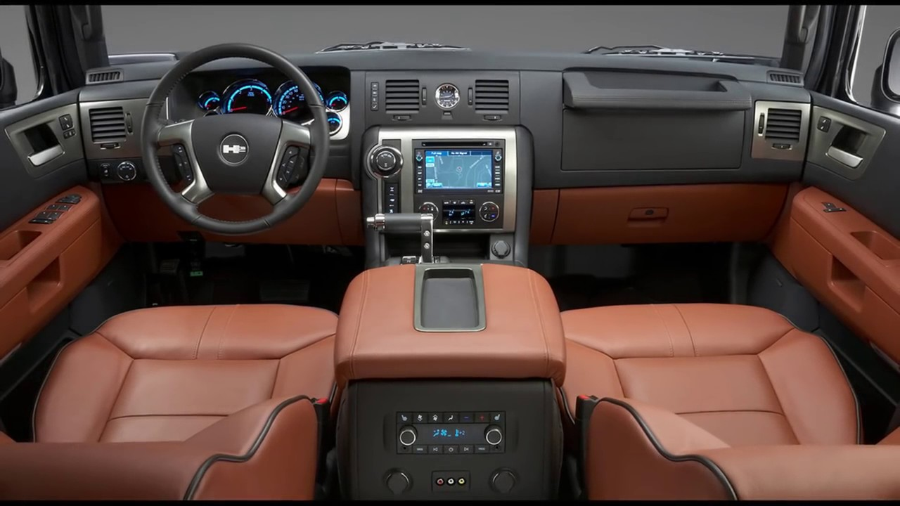 Hummer H2 Interior 2017 - YouTube