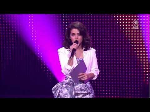 Katie Melua presenting Award at the German Echo Awards 2013