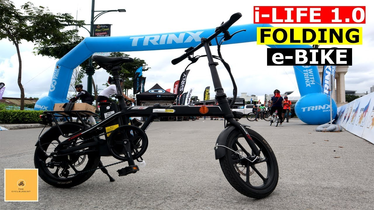 Quick Look At The 2020 Trinx Navigator Folding E Bike Philippine