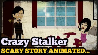 Crazy Stalker - Scary Story Animated in Hindi | Scary baba