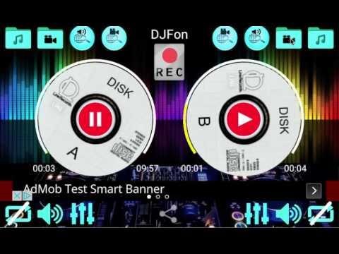 DJFon Music mixer for DJ freevideo