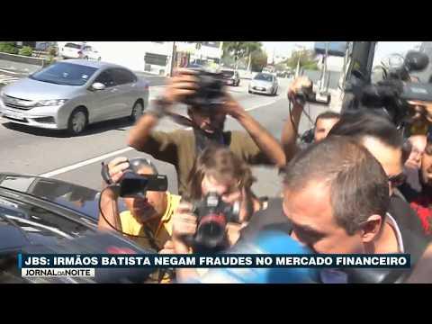 Donos Da JBS Negam Fraudes No Mercado Financeiro