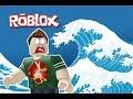 تسونامي خطير يضرب اكبر مدينة العاب في العالم فى لعبة roblox !!