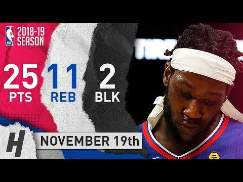Montrezl Harrell Full Highlights Clippers vs Hawks 2018.11.19 - 25 Pts, 11 Reb, 2 Blocks!