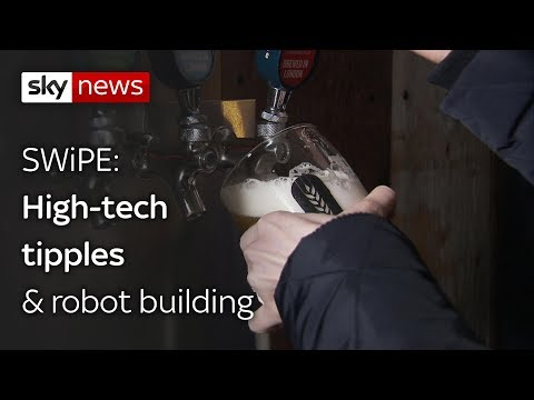 Swipe | High-tech tipples & robot building