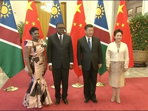 China, Namibia Agree to Establish Comprehensive Strategic Partnership of Cooperation