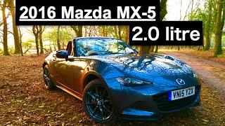 2016 Mazda MX-5 2.0 litre Review - Inside Lane