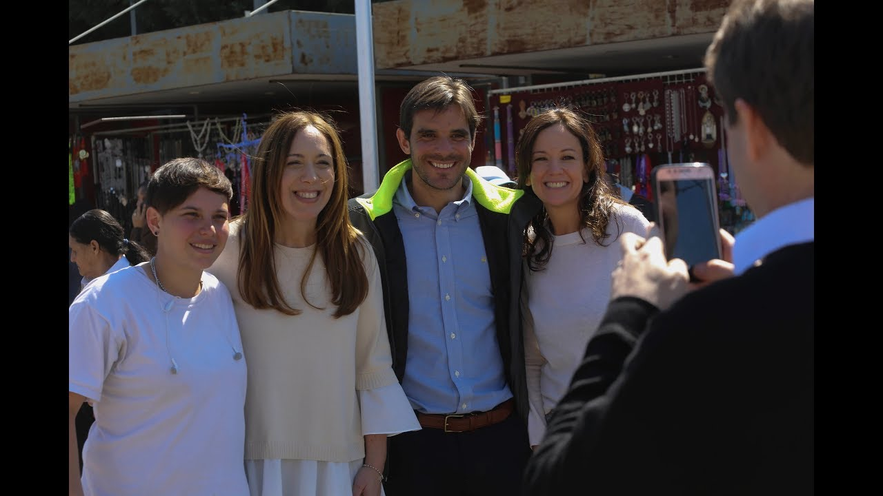 VIDAL RECORRIÓ EL PARTIDO BONAERENSE DE SAN NICOLÁS
