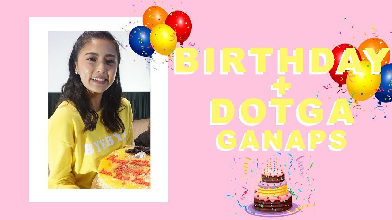 KIM'S DAY-ARY: BIRTHDAY + DOTGA Ganaps - Kim Chiu 2018-05-14 04:47