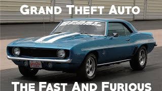 GTA 5 Online: 2 Fast 2 Furious Build: Brians Camaro