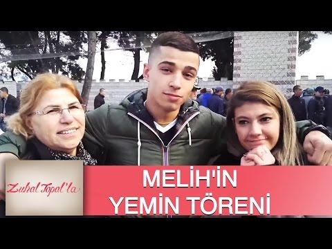 Zuhal Topal'la 75. Bölüm (HD)   Melih'in Yemin Töreninden Duygusal Görüntüler