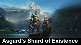 God of War Asgard's Shard of Existence Location