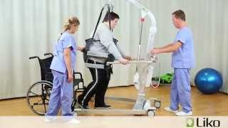 Hill-Rom | Liko® Lifts & Slings | Gait Training Bariatric Patient