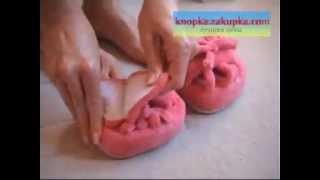 Тапочки-тренажеры для похудения Slim Slippers.avi
