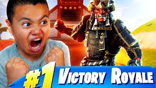 Little Kid RAGER Plays With The *NEW* INSANE SKIN!!! (BEST SKIN EVER?) FORTNITE BATTLE ROYALE FUNNY