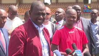 DP Ruto promises Harambee Stars Sh50 million for AFCON 2019 qualification