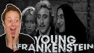 Young Frankenstein * FIRST TIME WATCHING * reaction & commentary * Millennial Movie Monday