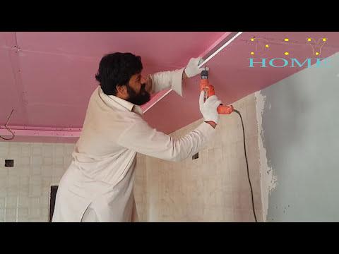 gypsum board ceiling installation india