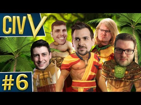 Civ V: Trouble in Paradise #6 - The Island of Peace