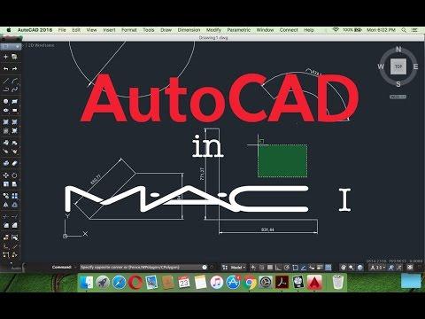 Tutorial -1AutoCAD 2016 on Macintosh (Mac ) - Basic