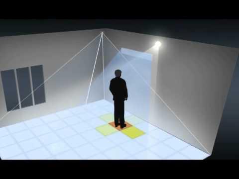 grideye passive infrared array sensor youtube