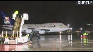 LIVE: Saudi king arrives in Moscow for historic state visit thumbnail