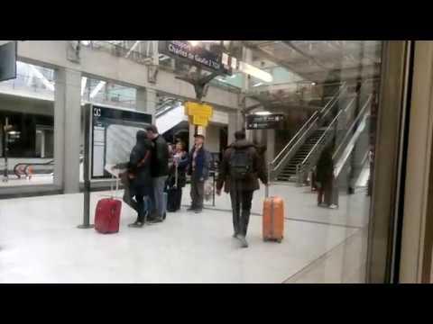 RER B - Paris Charles de Gaulle Airport to Châtelet - Les Halles (Train in Paris)