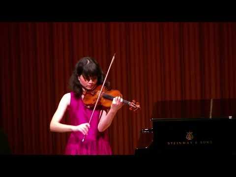 """Ysaÿe :Solo Sonata for Violin Solo No.3 """"Ballade"""" イザイ:無伴奏ヴァイオリンソナタ 第3番 「バラード」佐原敦子 Atsuko Sahara"""