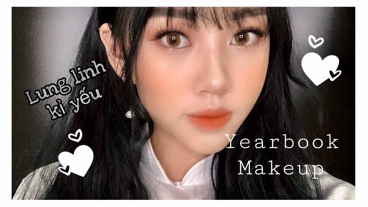 Tự Make Up Kỷ Yếu Siêu Đơn Giản | Patee Makeup