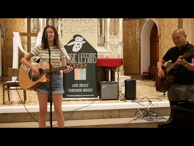 Katerina guitar/voice Spring Recital June 2019