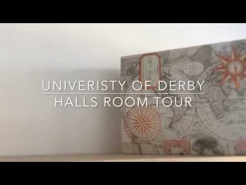 UNIVERSITY OF DERBY | HALLS ROOM TOUR | MADDY IRELAND