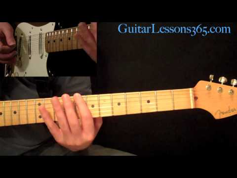 Walk This Way Guitar Lesson Pt.1 - Aerosmith - Rhythm Guitar Parts